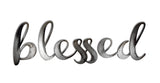 blessed gunmetal sign