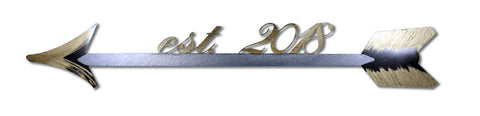 Arrow with Personalized Year
