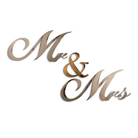 mr and mrs home decor