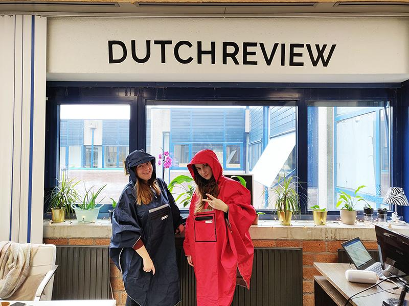 DutchReview's Holiday Gift Guide: The People's Poncho for the Dutch rainy winter