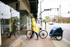 The People's Cycling Poncho 2.0 - She Rides Her Bike Review