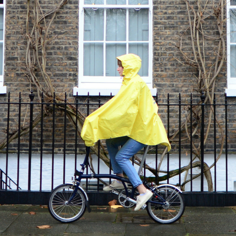Fisherman's Yellow Poncho 3.0