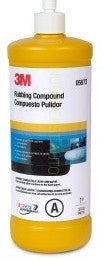 3M™ 05973 Rubbing Compound, 1 Quart, Auto body shop restoration car paint supplies