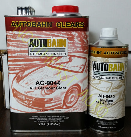 AUTOBAHAN ,GLAMOUR CLEARCOAT 4:1 ,AC9044 ,auto paint,