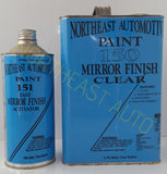 CANARY YELLOW BASECOAT CLEARCOAT AUTO body shop RESTORATION CAR PAINT supplies