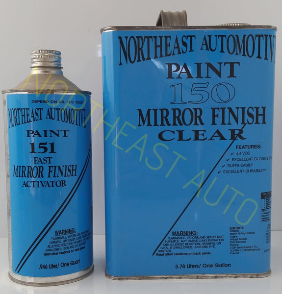 Canary Yellow Basecoat Clearcoat Auto Body Shop