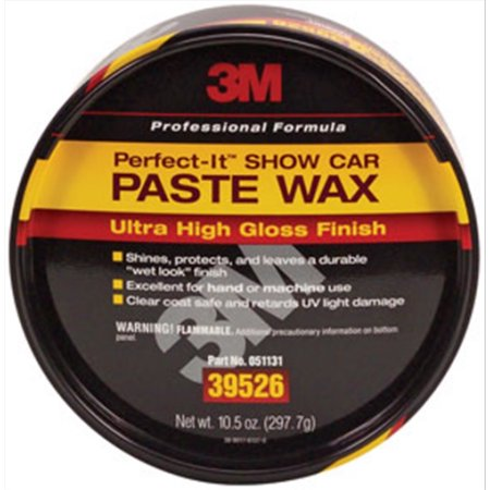 3M 39526 PERFECT IT SHOW CAR PASTE WAX AUTO RESTORATION CAR PAINT SUPPLIES