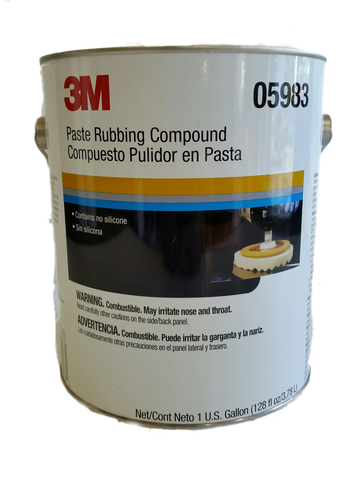 3M™ Perfect-It™ II Rubbing Compound, 1 Gallon (US), 05983 restoration auto body shop car paint