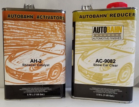 AC 9082 Show Car Clear 2 Gal Kit Same Clear that has been sold as Wet Wet Clear