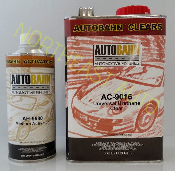 Urethane Clearcoat Kit Autobahn Ac 9016 W Ah 6680 Auto