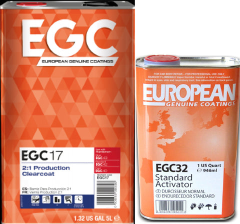 EGC17 2:1 PRODUCTION CLEARCOAT