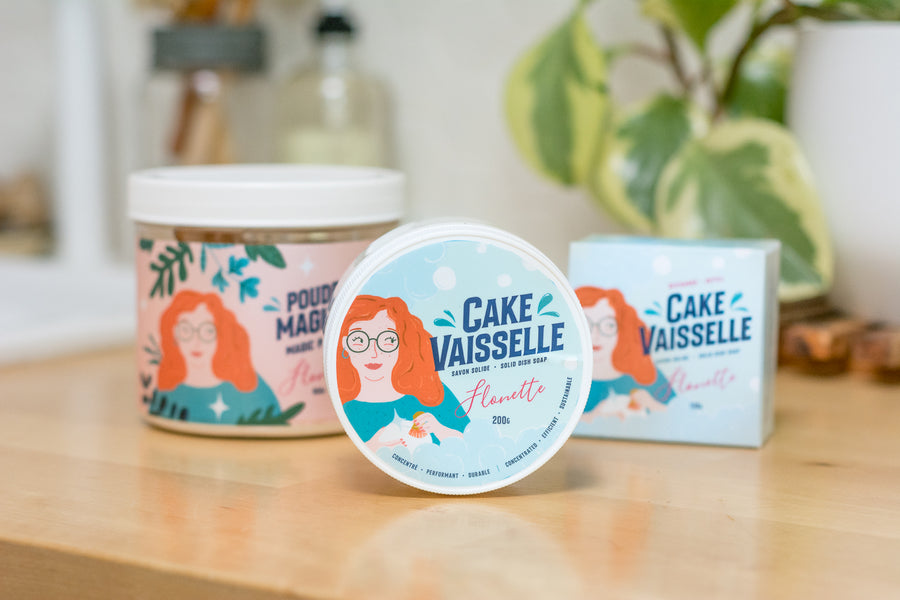 Recharge Cake vaisselle