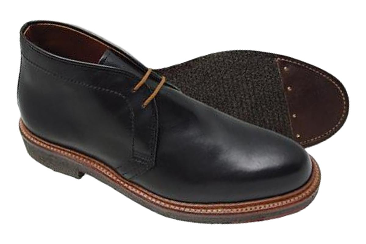 Alden 1247 Chukka Boot Black Leather