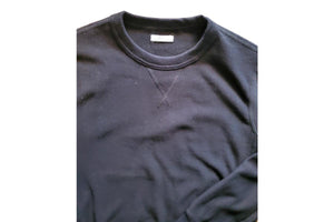 20 oz French Terry Sweatshirt Black-Milworks-MILWORKS