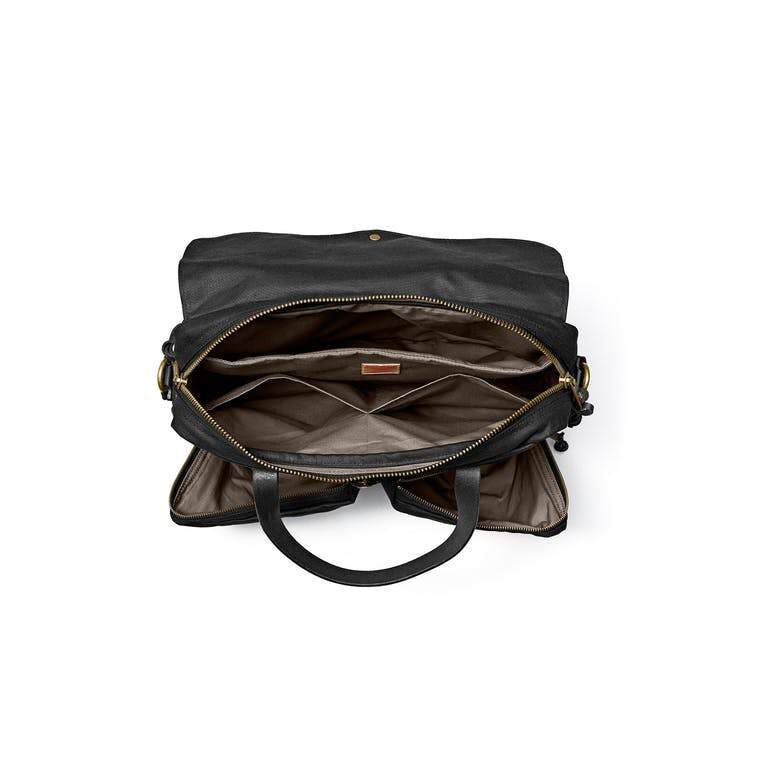 Filson 24-Hour Tin Briefcase Black