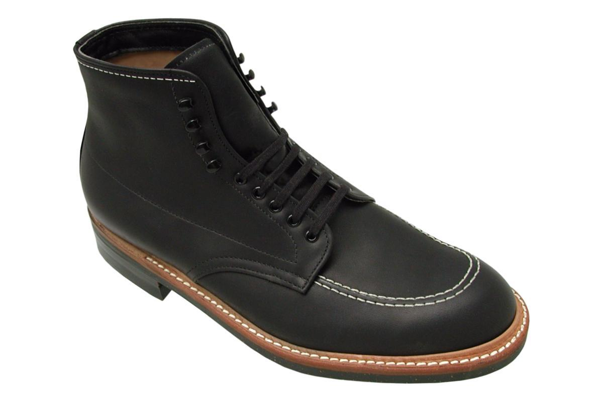 "401 ""Indy"" Boot in Black CXL Leather-Alden-MILWORKS"