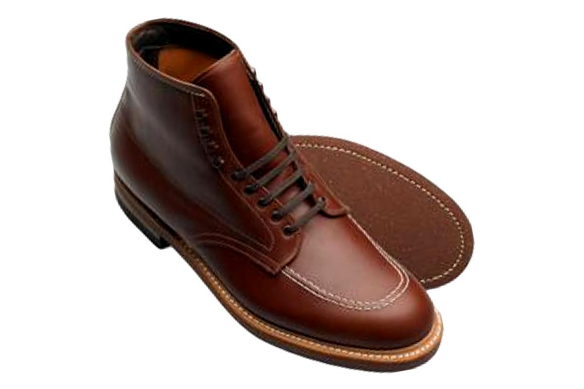 "Alden 405 "" Indy"" Boot in Brown Calf"