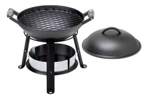 All in One Cast Iron Grill-Barebones Living-MILWORKS