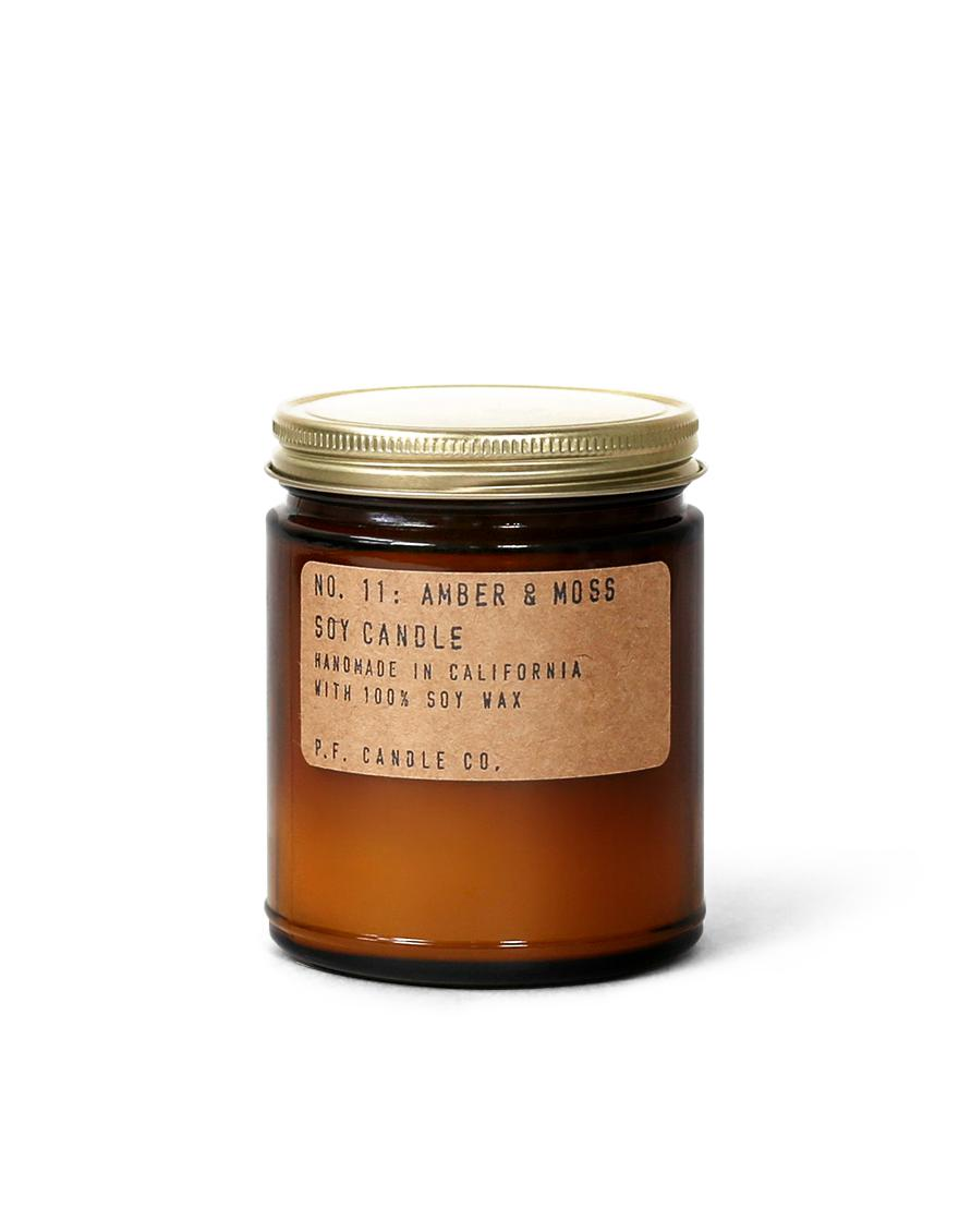 Amber & Moss - 7.2 oz Standard Soy Candle-P.F. Candle Co.-MILWORKS