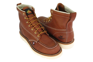 "Thorogood Boots American Heritage 6"" Tobacco Moc Toe"