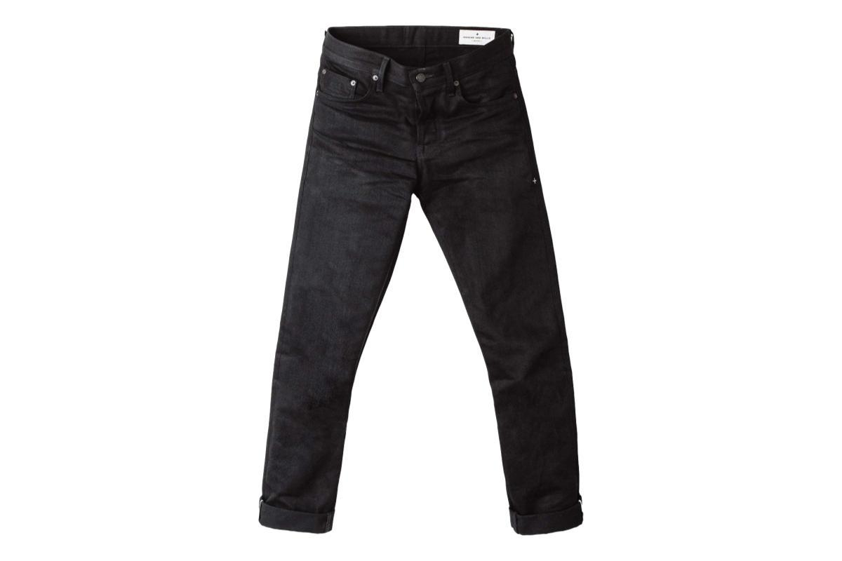 Imogene & Willie Barton Slim Jean Black Selvage Rinse