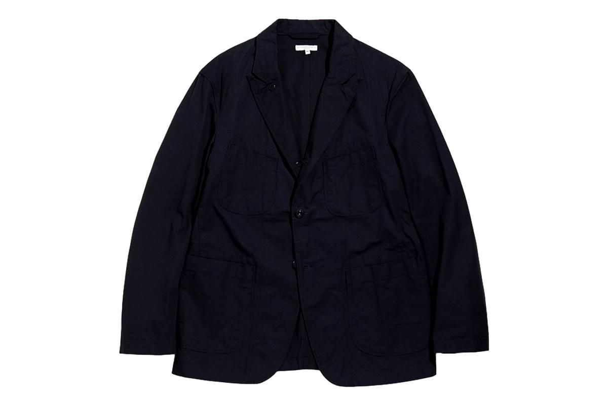 Bedford Jacket Dk. Navy Ripstop-ENGINEERED GARMENTS-MILWORKS