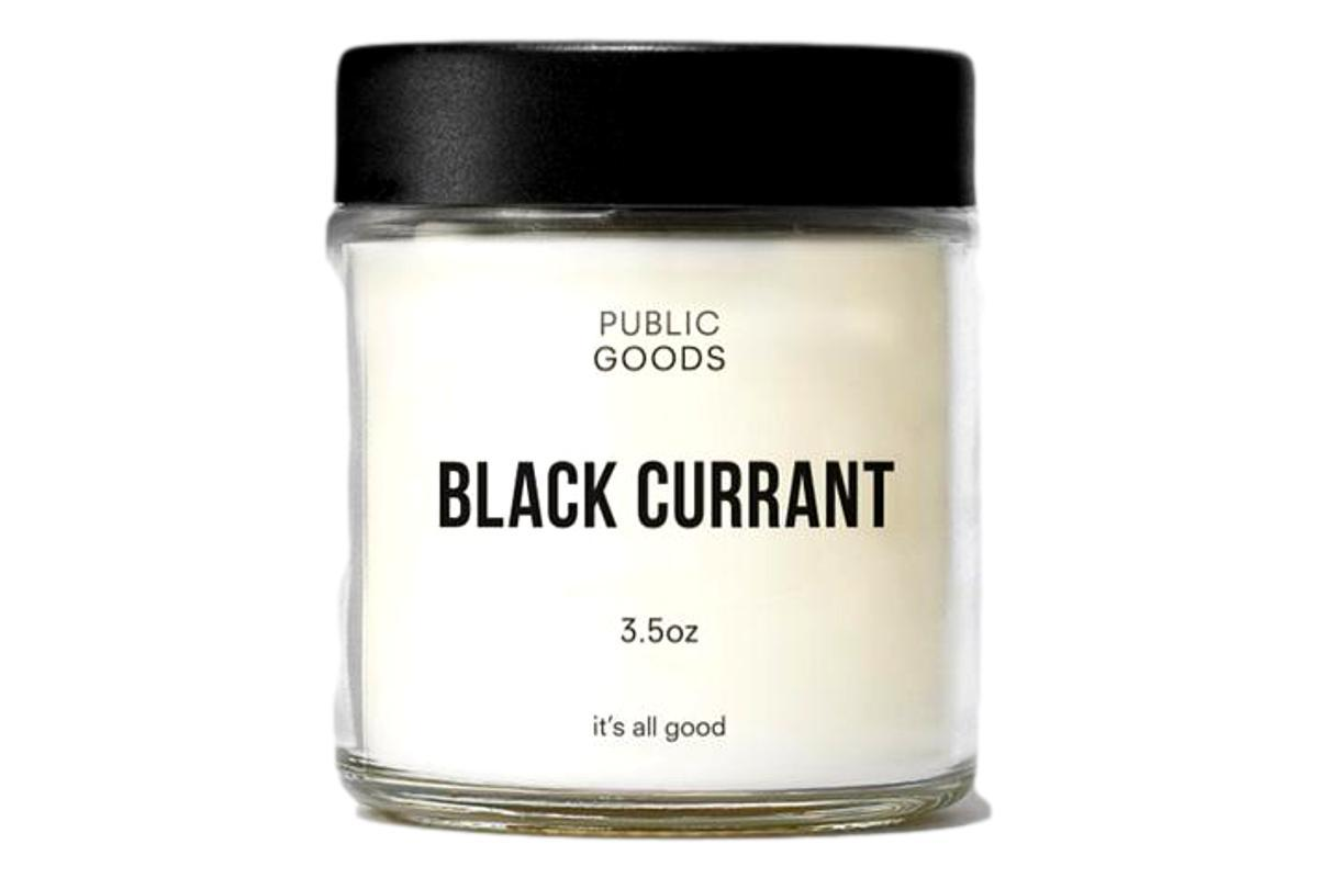 Black Currant Scented Candle 3.5 oz-Public Goods-MILWORKS
