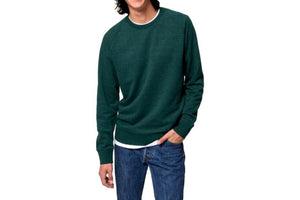 Callum Crew Sweatshirt Heather Green-Milworks-MILWORKS