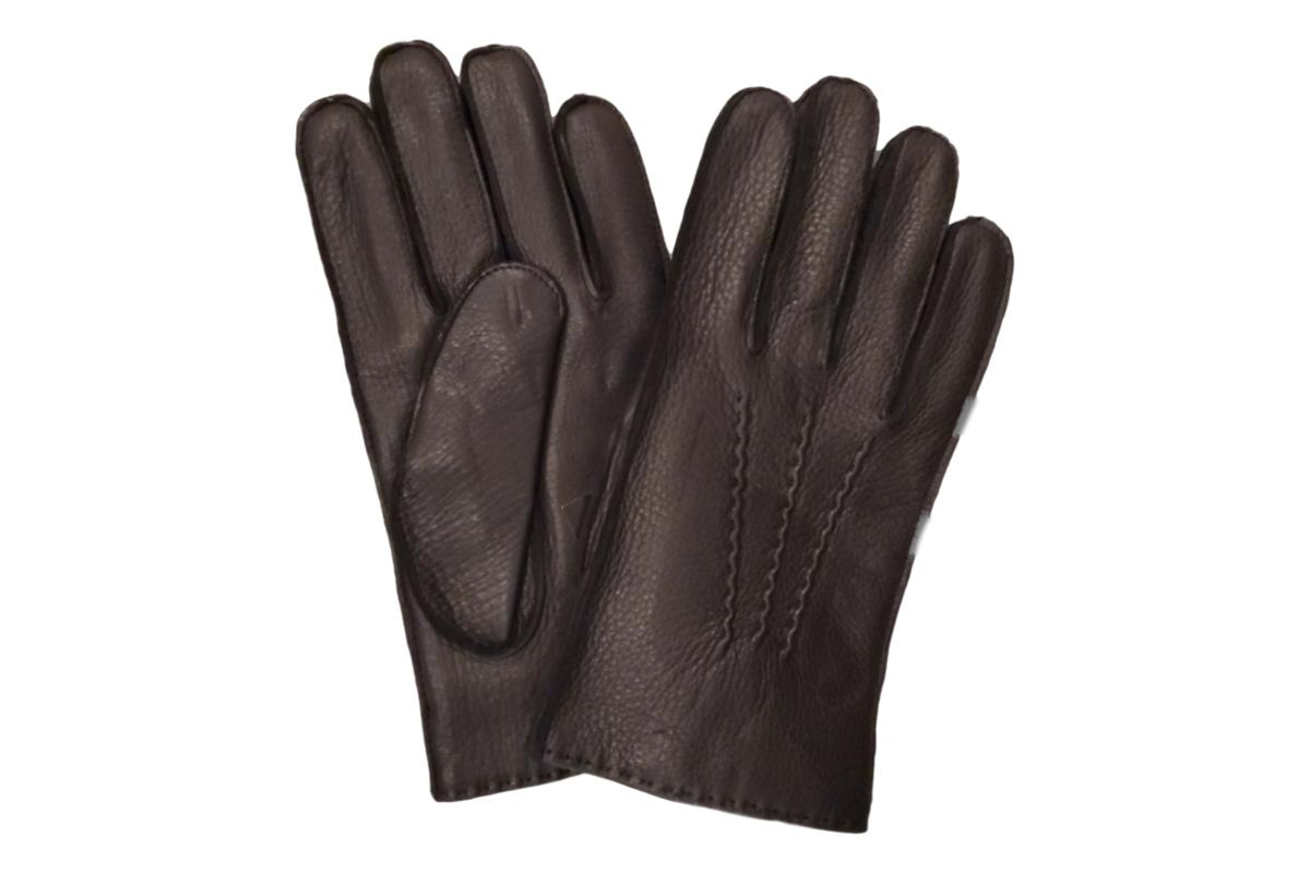 Wiebke Trading Company Cashmere Lined Leather Glove Black