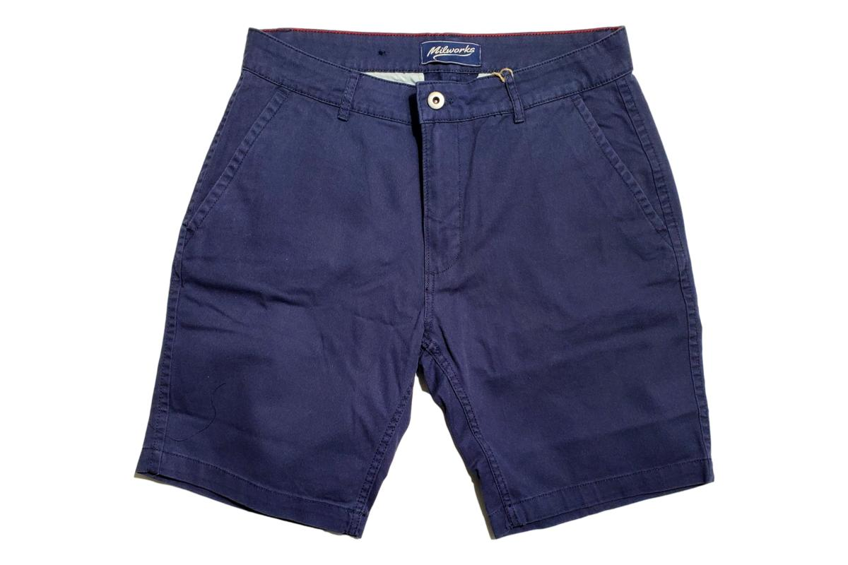 Chino Short Navy-Milworks-MILWORKS