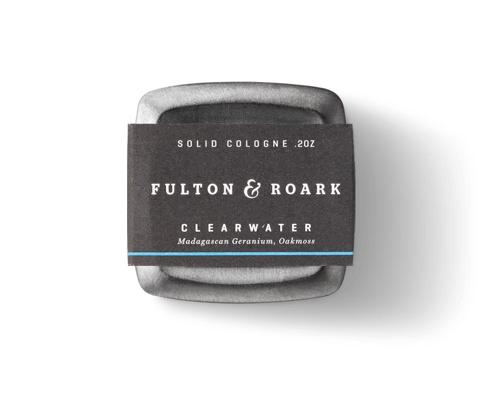 Clearwater 2oz Solid Cologne-Fulton and Roark-MILWORKS
