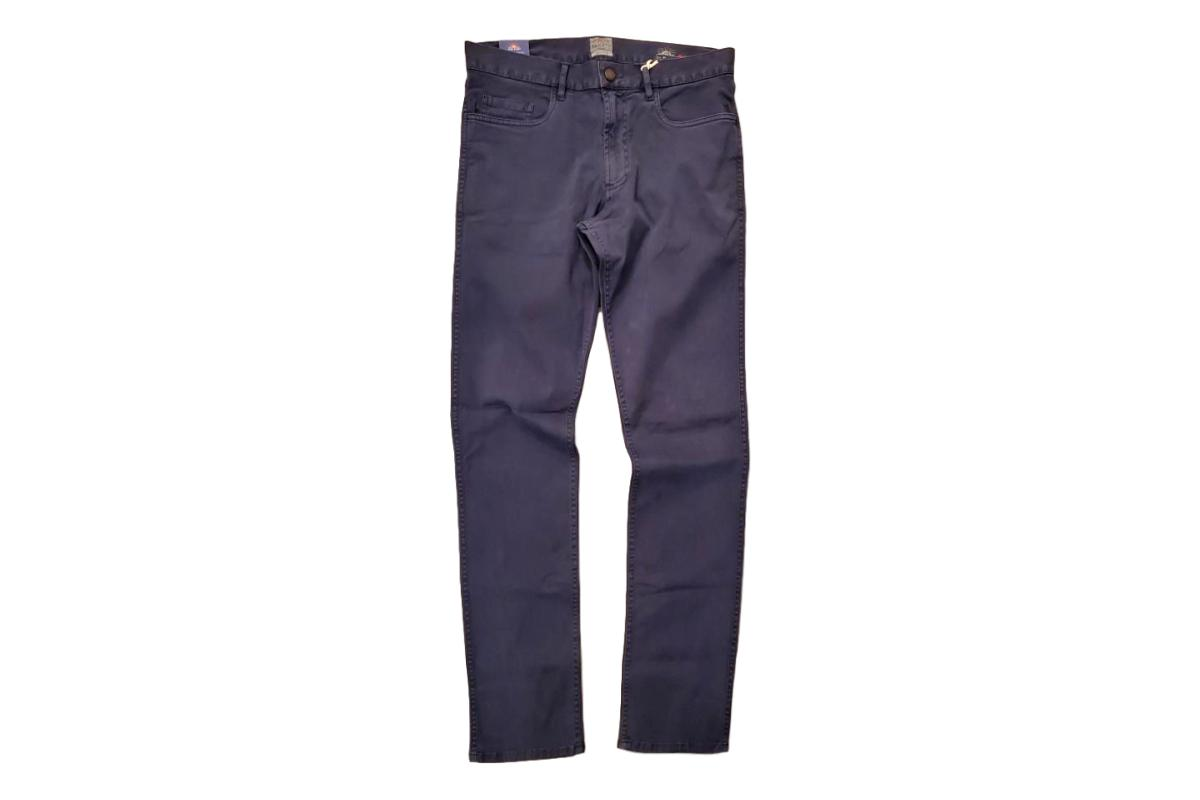 Comfort Twill Jean Navy-Faherty Brand-MILWORKS