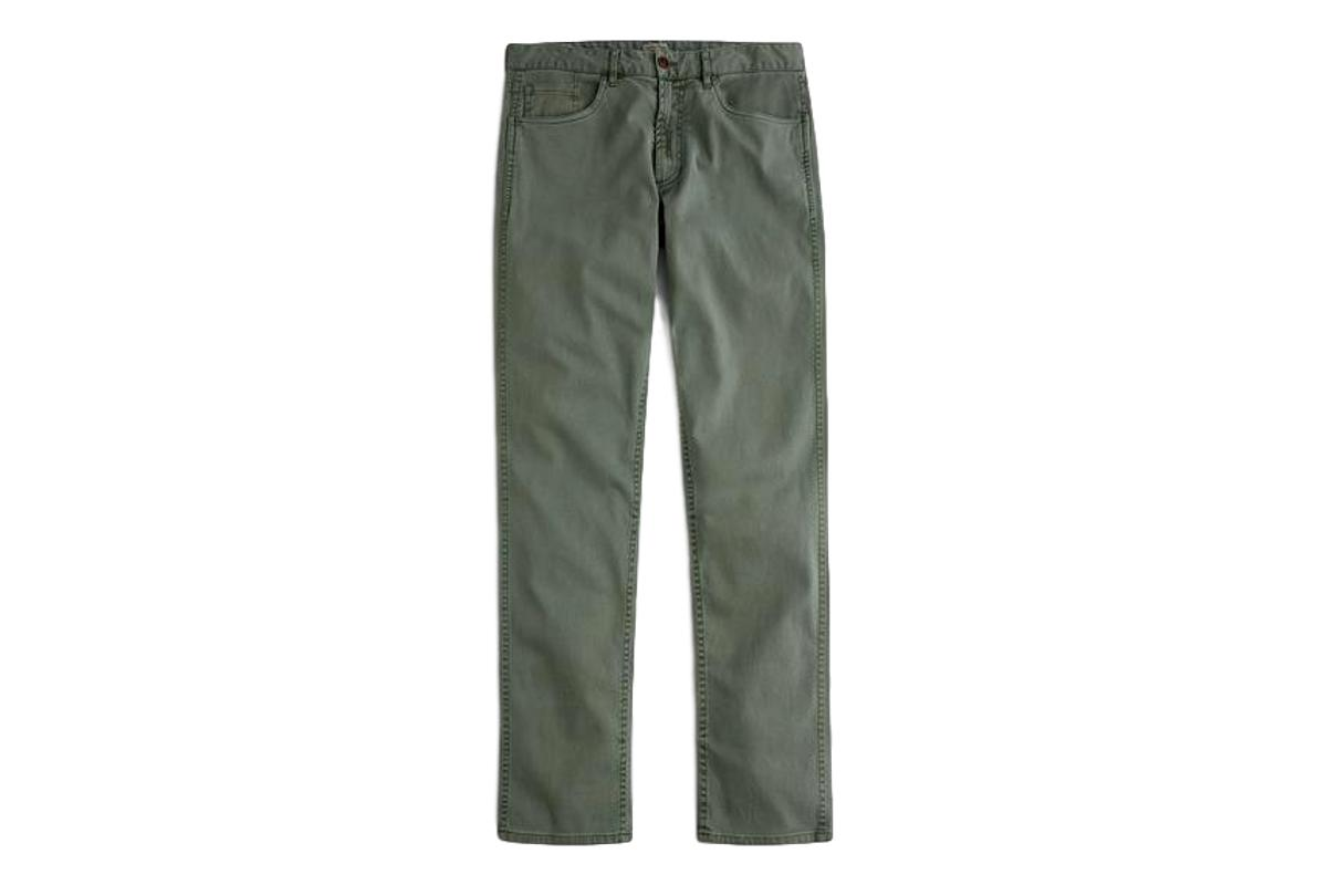 Comfort Twill Jean Surplus Green-Faherty Brand-MILWORKS