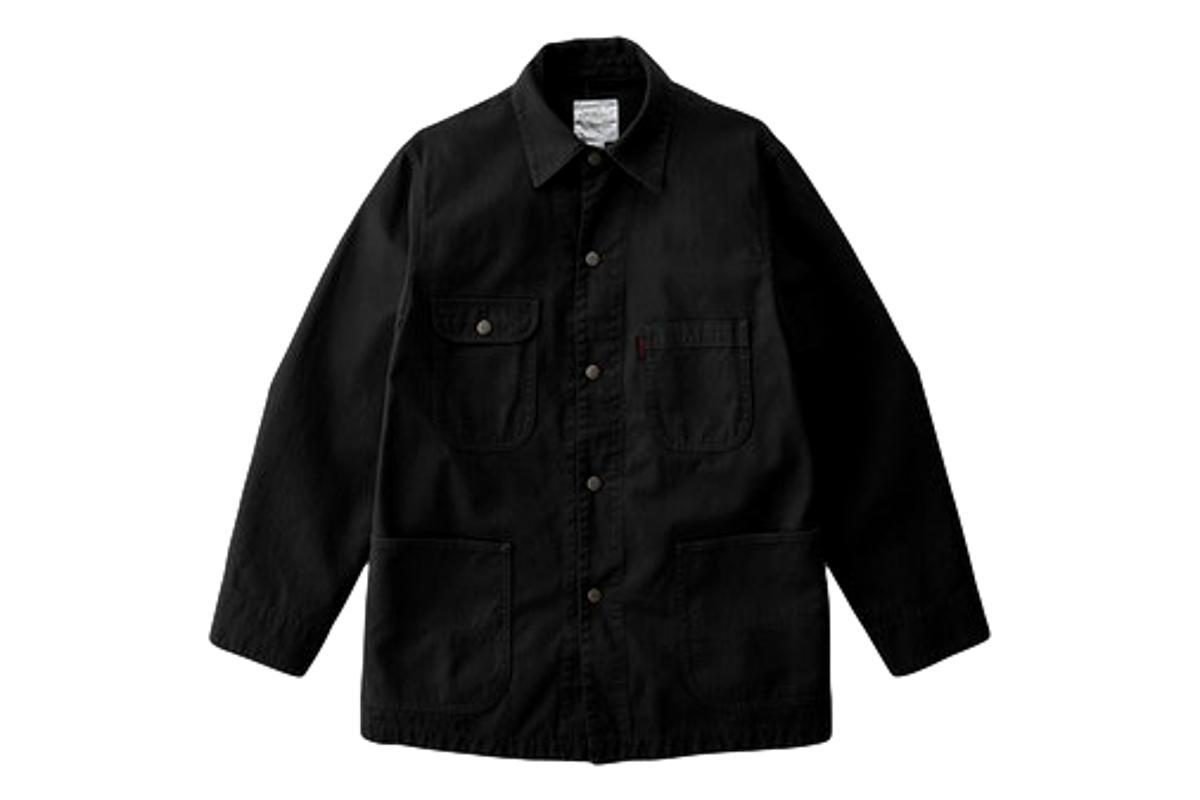Coverall Jacket Black-Gramicci-MILWORKS