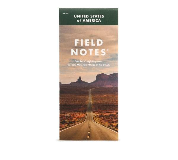 Field Notes - Field Notes National Highway Map-Field Notes-MILWORKS