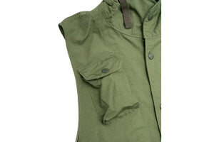 Field Vest Olive Ripstop-ENGINEERED GARMENTS-MILWORKS