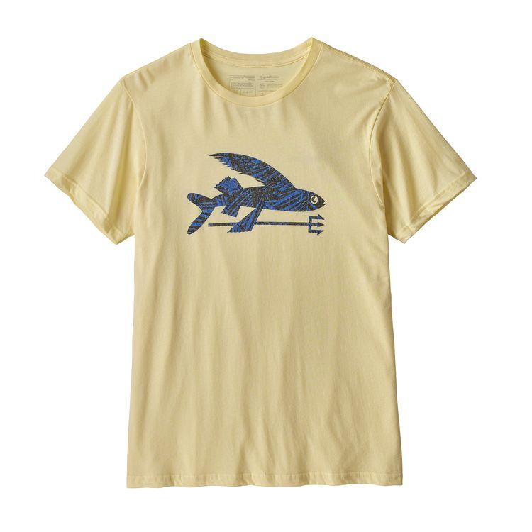 Patagonia Flying Fish Organic Tee in RYRF