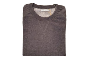 French Terry Crew Sweatshirt Charcoal-Milworks-MILWORKS