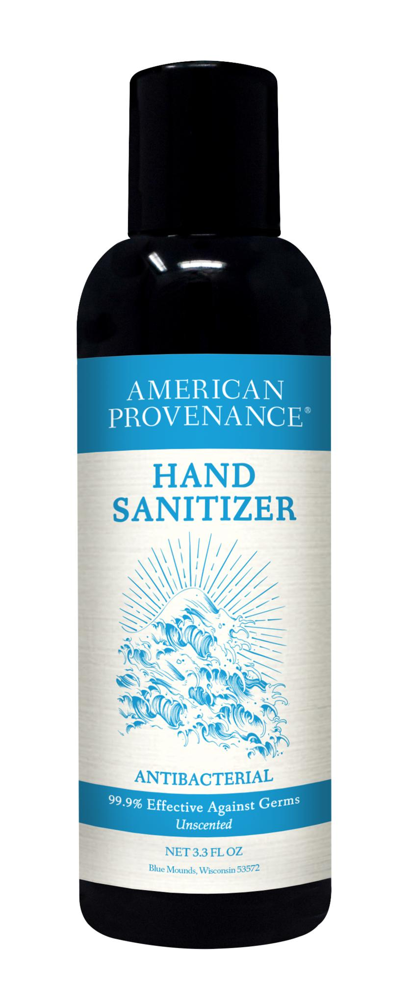 Hand Sanitizer 3.3oz.-American Provenance-MILWORKS