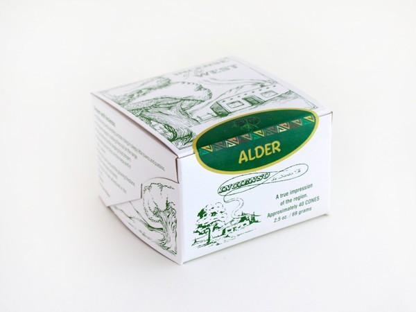 Incienso Alder natural wood incense.-Incienso De Santa Fe-MILWORKS