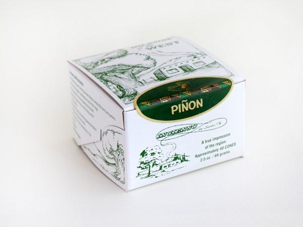 Incienso Pinon natural wood incense.-Incienso De Santa Fe-MILWORKS