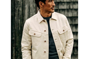 Long Haul Jacket Natural Organic Selvage-Taylor Stitch-MILWORKS