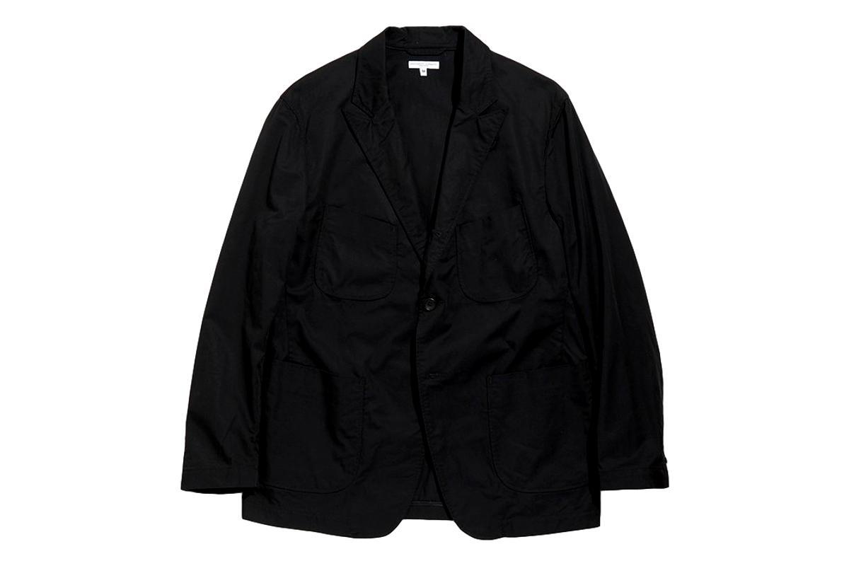 NB Jacket Black High Count Twill-ENGINEERED GARMENTS-MILWORKS