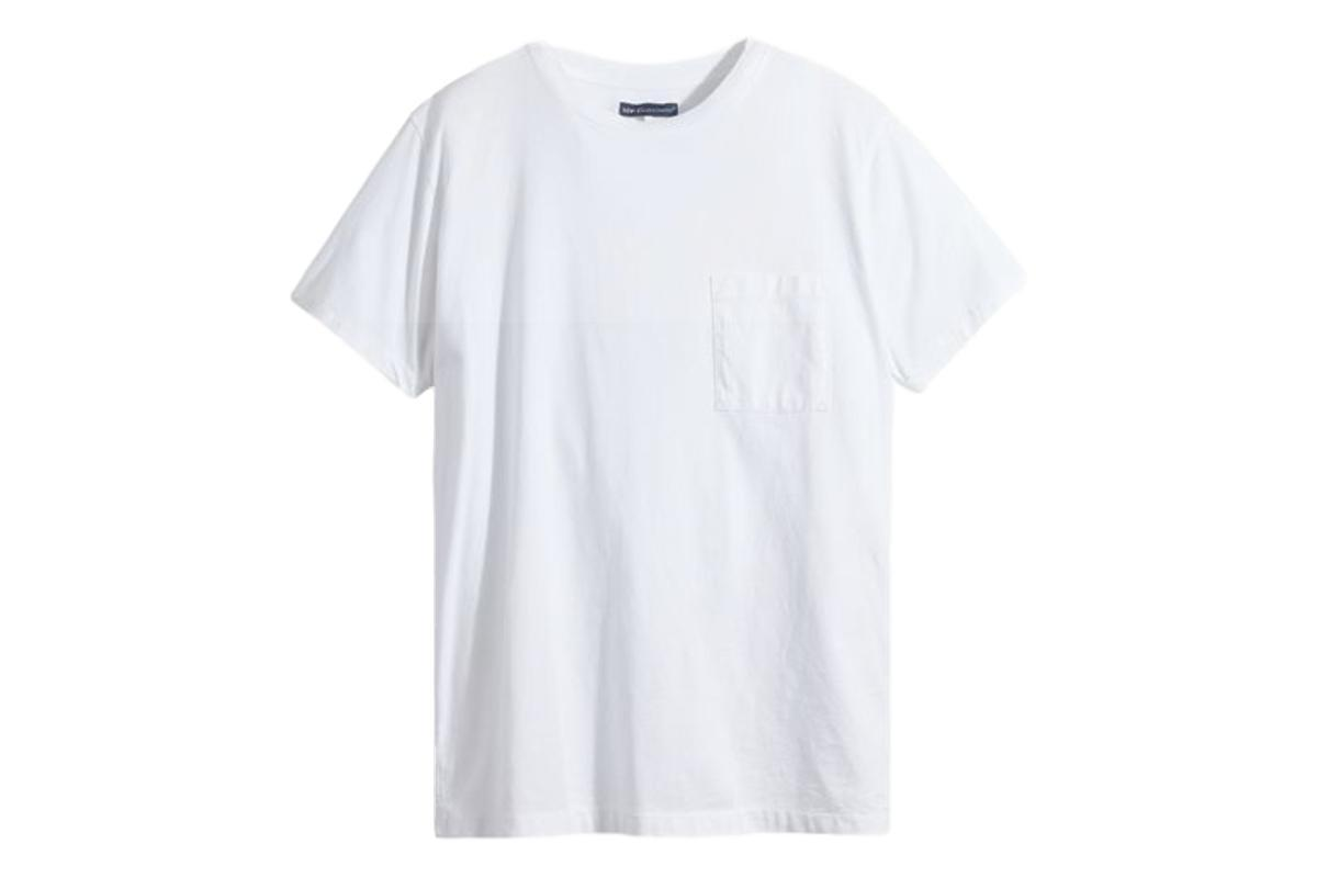 Pocket Tee Bright White-Levis Made & Crafted-MILWORKS