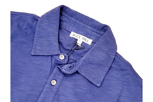 Rugby Polo Royal Blue-Alex Mill-MILWORKS