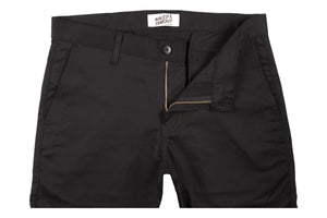 Slim Chino Black Stretch Twill-Naked & Famous Denim-MILWORKS