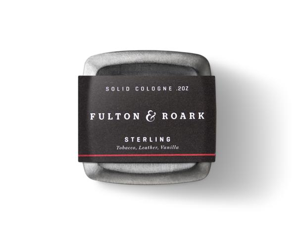 Sterling 2oz Solid Cologne-Fulton and Roark-MILWORKS