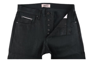 Super Guy Black Cobra Stretch Selvedge-Naked & Famous Denim-MILWORKS