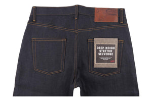 Naked & Famous Denim Super Guy Deep Indigo Stretch Selvedge