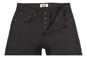 Super Guy Solid Black Selvedge-Naked & Famous Denim-MILWORKS
